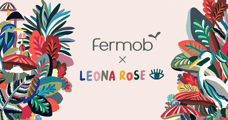 FERMOB X LEONA ROSE
